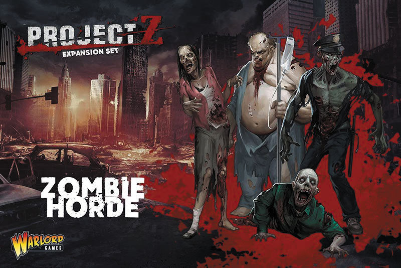 Project Z: Zombie Horde Box Front