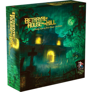 Betrayal At House On The Hill Box Front