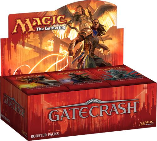 Magic The Gathering Ccg: Gatecrash Booster Display (36) Box Front