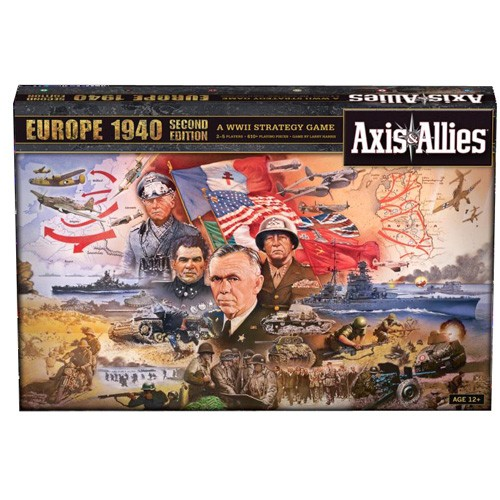Axis And Allies Europe 1940 (reprint) Box Front