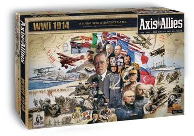 Axis And Allies Wwi 1914 Box Front