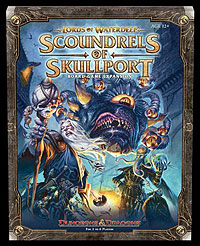 Dungeons And Dragons: Lords Of Waterdeep Board Game Scoundrels Of Skullport Expansion Box Front
