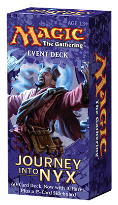 Magic The Gathering Ccg: Journey Into Nyx Event Deck Display (6) Box Front