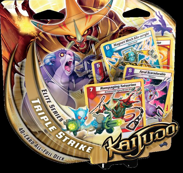 Kaijudo Tcg: Elite Series Triple Strike Deck Display (6) Box Front
