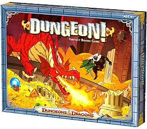Dungeons And Dragons Dungeon! Fantasy Board Game Box Front