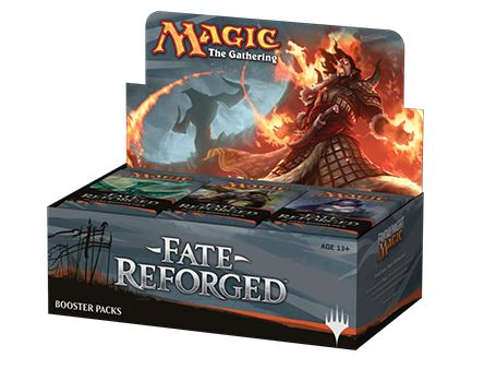 Magic The Gathering Ccg: Chinese Fate Reforged Booster Display (36) Box Front