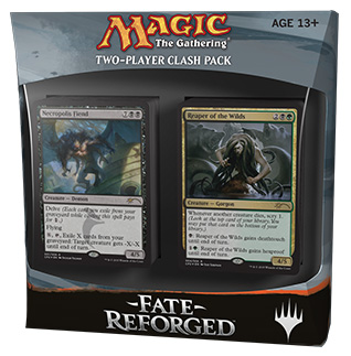 Magic The Gathering Ccg: Fate Reforged Clash Pack Display (5) Box Front