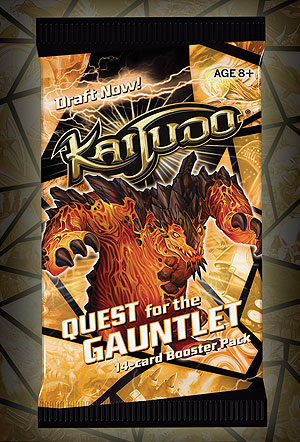 Kaijudo Tcg: Quest For The Gauntlet Booster Display (36) Box Front