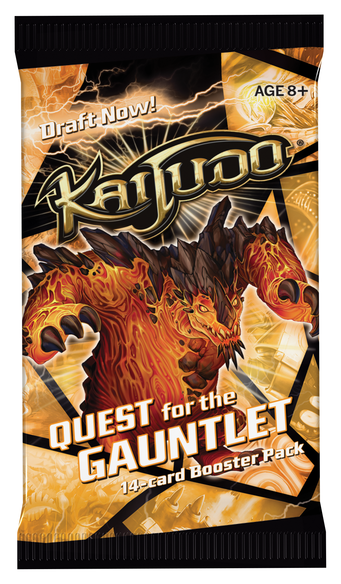 Kaijudo Tcg: Quest For The Gauntlet Booster Box Front