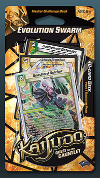 Kaijudo Tcg: Quest For The Gauntlet Evolution Swarm Master Challenge Deck Display (8) Box Front