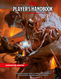 Dungeons And Dragons Rpg: Players Handbook Box Front