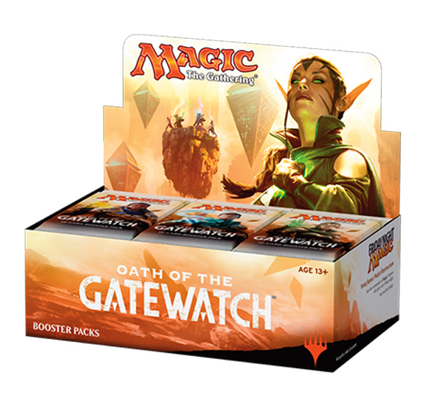 Magic The Gathering Ccg: Chinese Oath Of The Gatewatch Booster Display (36) Box Front