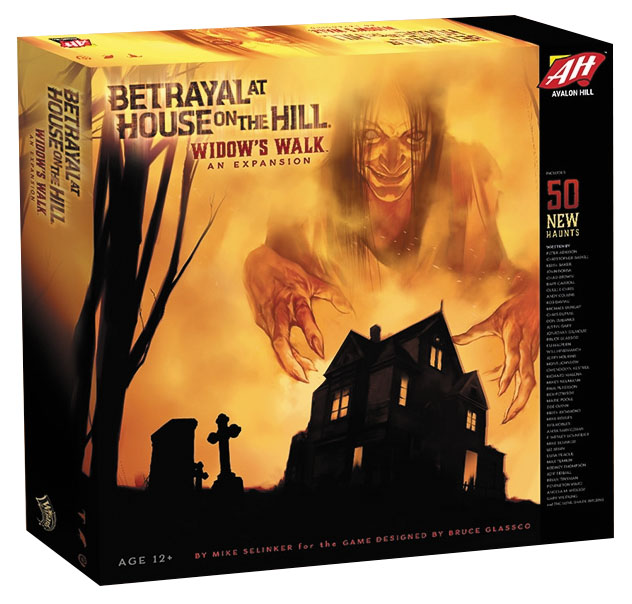 Betrayal At House On The Hill: Widow`s Walk Box Front