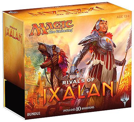 Magic The Gathering Ccg: Rivals Of Ixalan Bundle Box Front