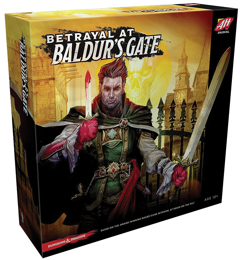 Betrayal At Baldur`s Gate Box Front