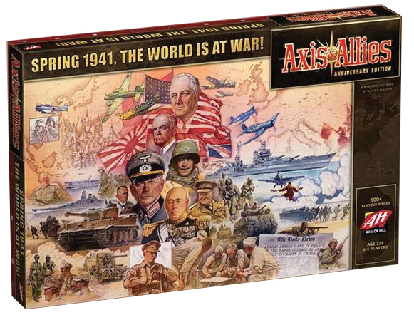 Axis And Allies Anniversary Edition Box Front
