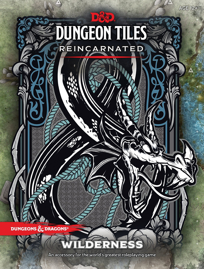 Dungeons And Dragons Rpg: Dungeon Tiles Reincarnated - Wilderness Box Front