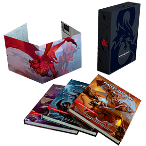 Dungeons And Dragons Rpg: Core Rulebook Gift Set Game Box