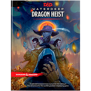 Dungeons And Dragons Rpg: Waterdeep - Dragon Heist Box Front