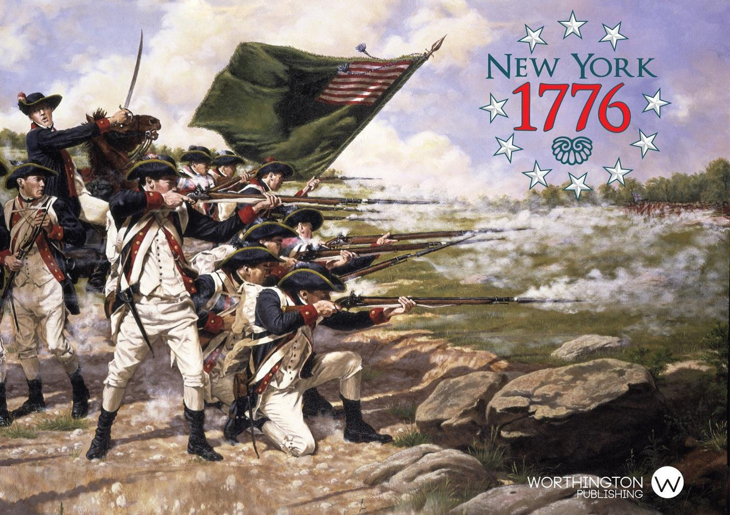 1776: The New York Campaign Box Front