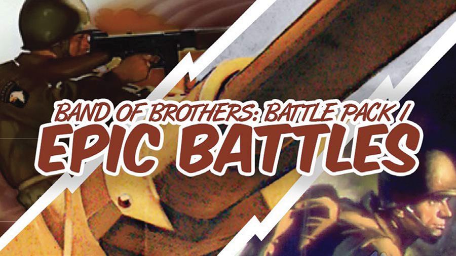 Band Of Brothers: Battle Pack I - Epic Battles Box Front