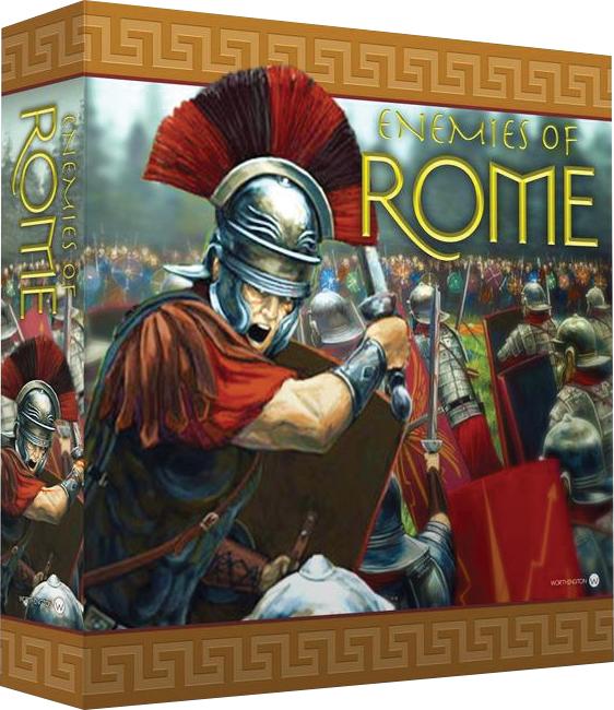 Enemies Of Rome Box Front