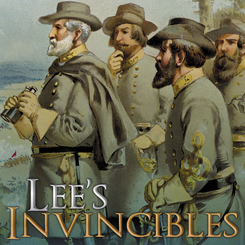Lee`s Invincibles: Gettysburg Campaign Of 1863 Box Front