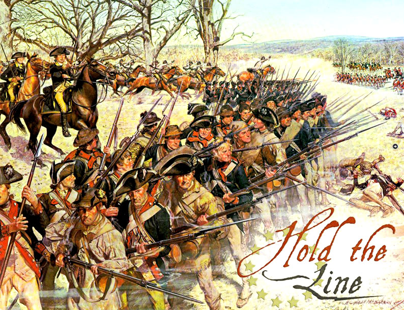 Hold The Line Box Front