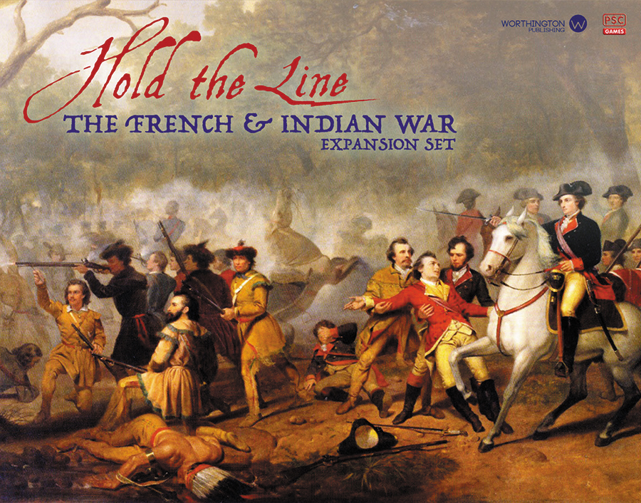 Hold The Line: The French And Indian War Expansion Set Box Front