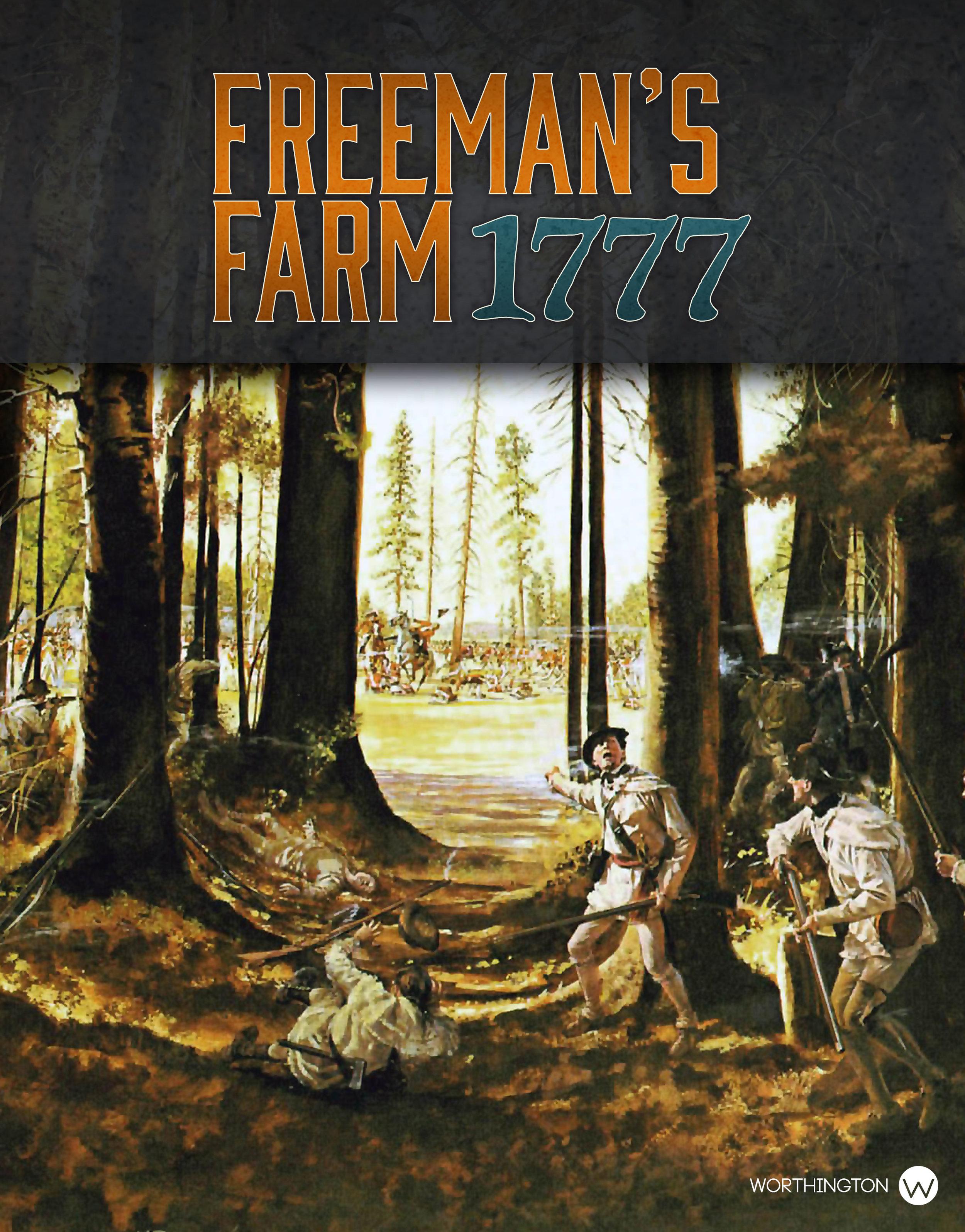 Battle Formations: Freeman`s Farm 1777