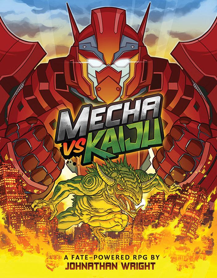 Mecha Vs Kaiju - Fate Powered Box Front