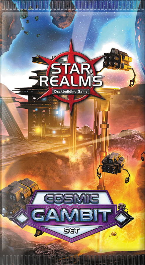 Star Realms Deck Building Game: Cosmic Gambit Set (display 24) Box Front
