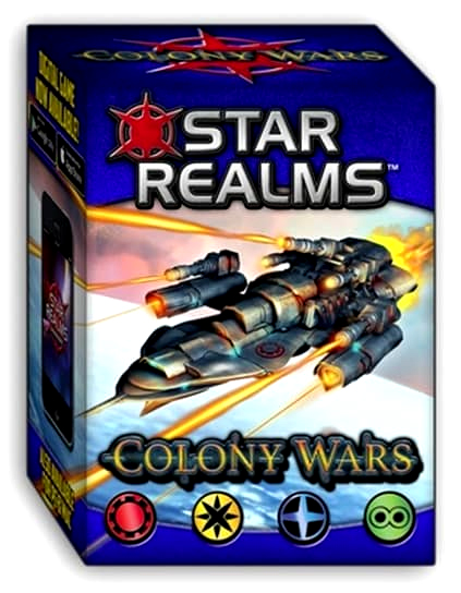 Star Realms Deck Building Game: Colony Wars Display (6) Box Front