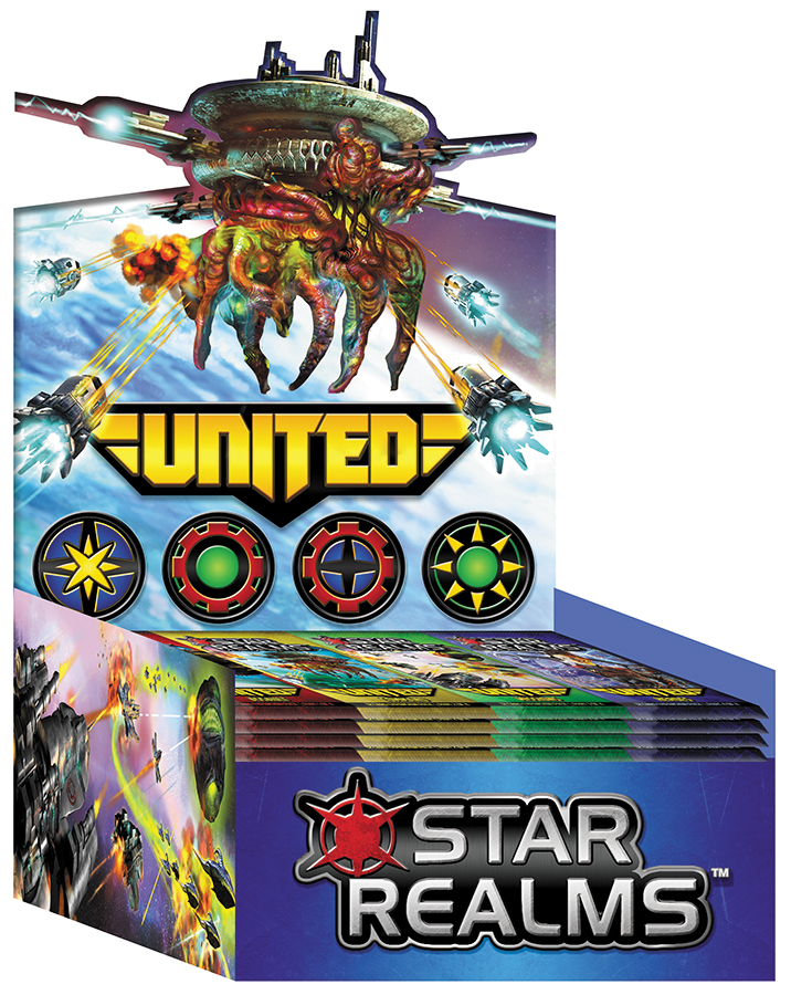 Star Realms Deck Building Game: United Display (24) Box Front