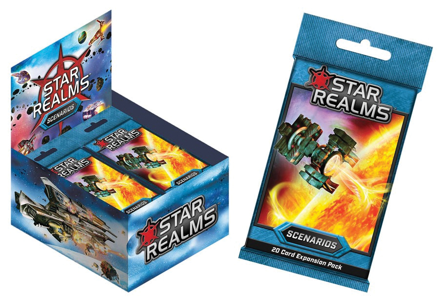 Star Realms Deck Building Game: Scenarios (display 24) Box Front