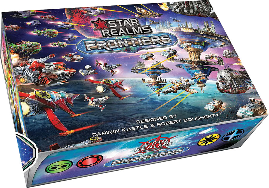 Star Realms: Frontiers Display (6) Box Front