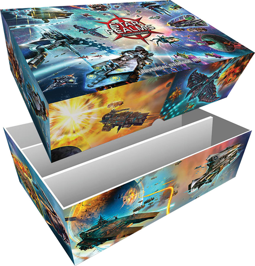 Star Realms Universal Storage Box Box Front