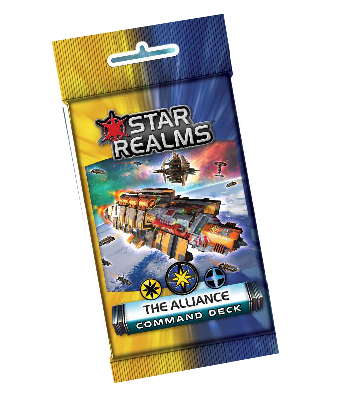 Star Realms: Command Deck - The Alignment Display (6) Box Front