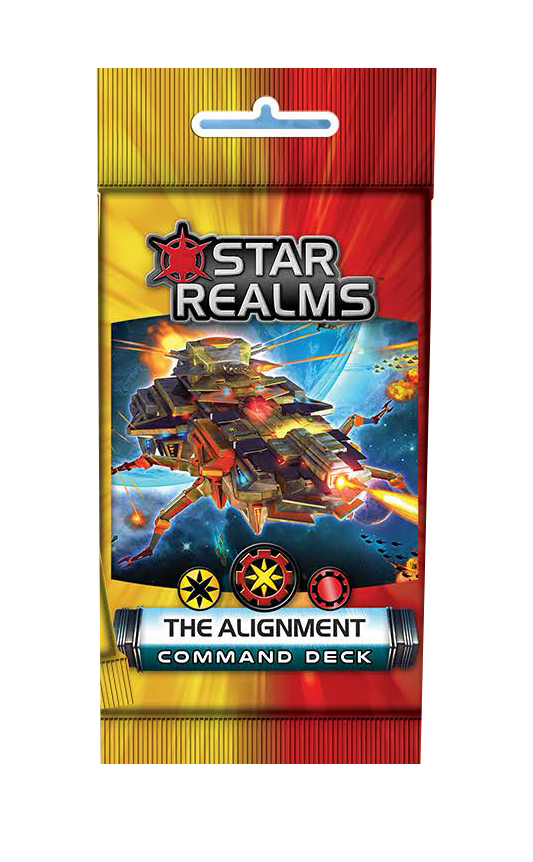 Star Realms: Command Deck - The Alliance Display (6) Box Front