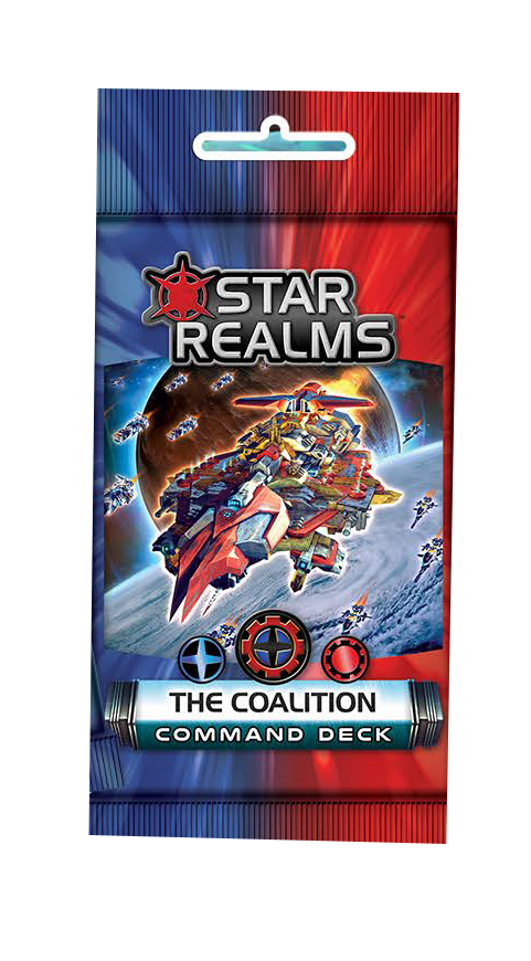 Star Realms: Command Deck - The Coalition Display (6) Box Front
