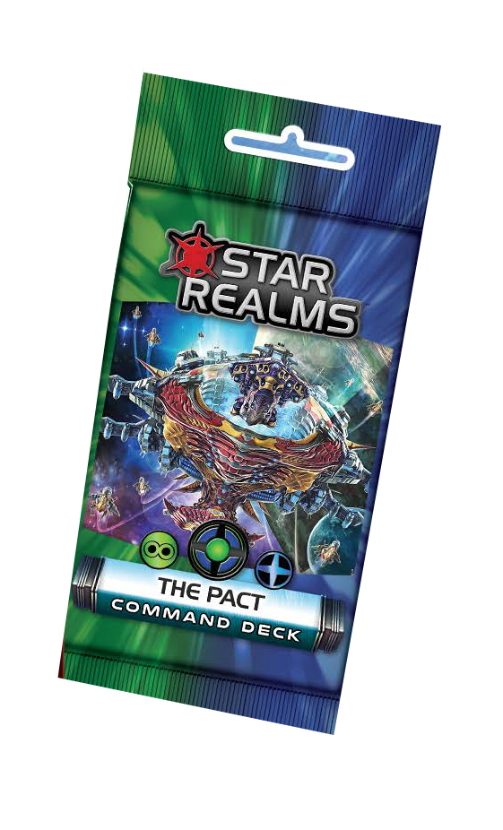 Star Realms: Command Deck - The Pact Display (6) Box Front