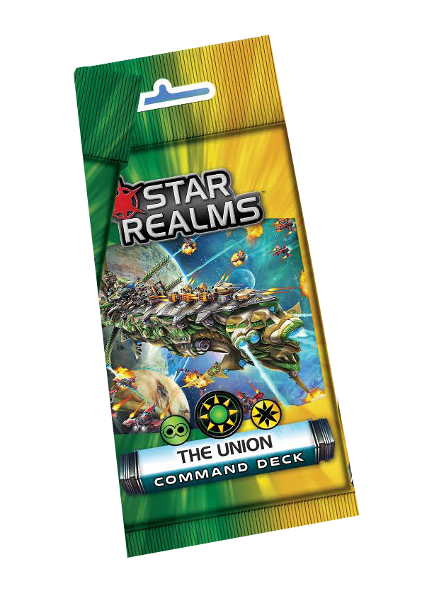 Star Realms: Command Deck - The Union Display (6) Box Front