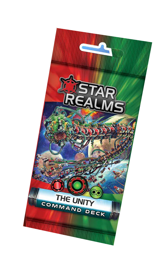 Star Realms: Command Deck - The Unity Display (6) Box Front