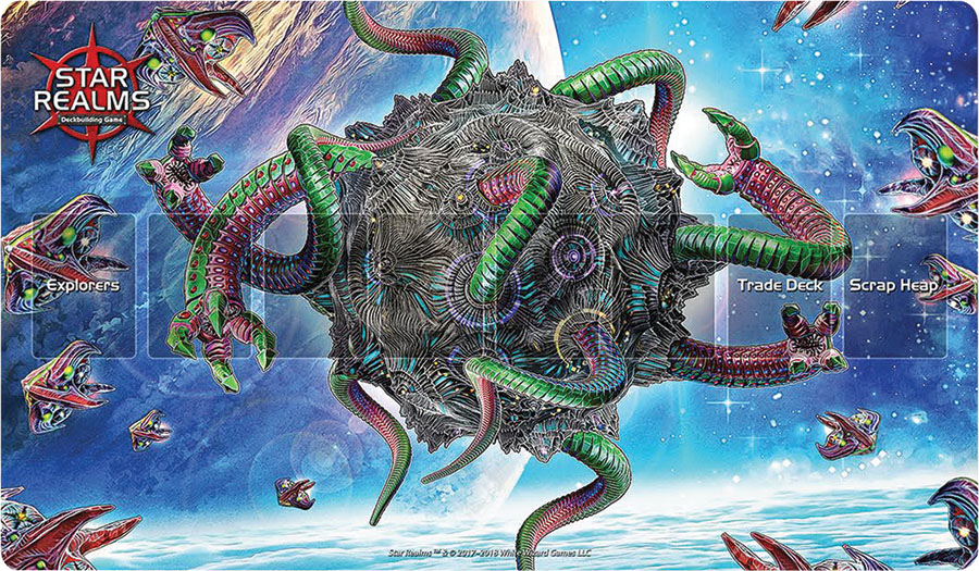 Star Realms Frontiers Playmat Infested Moon Box Front