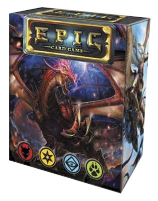 Epic Card Game Display (6) Box Front