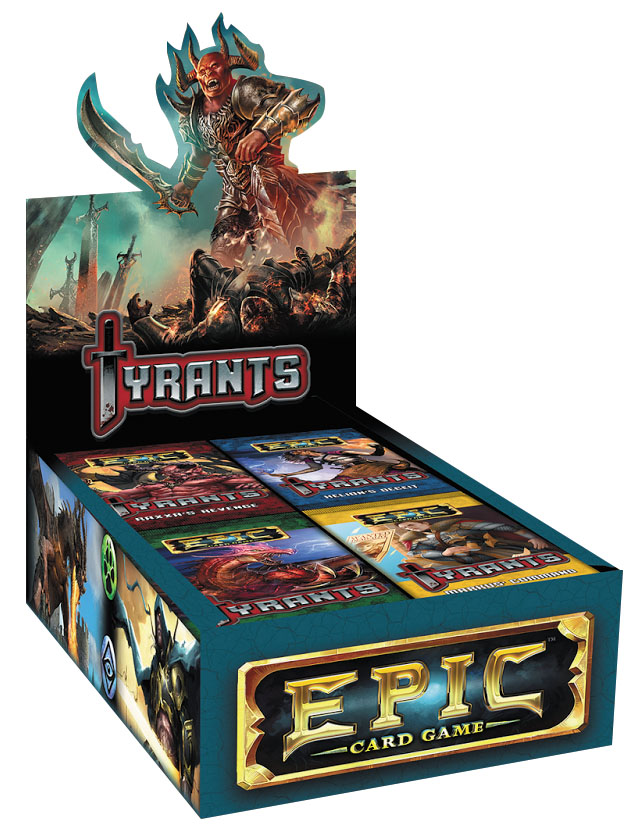 Epic Card Game: Tyrants Expansion Display (24) Box Front