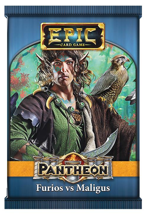 Epic Pantheon: Elder Gods - Furios Vs Maligus Display (12) Box Front