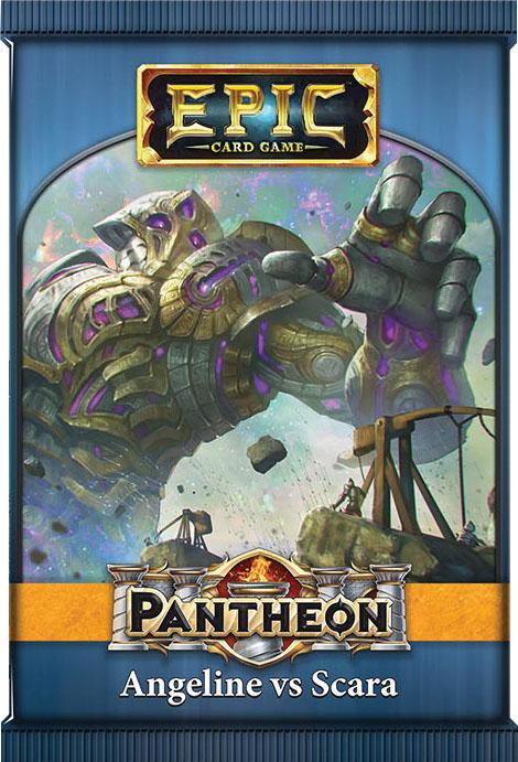 Epic Pantheon Gods: Angeline Vs Scara Display (12) Box Front