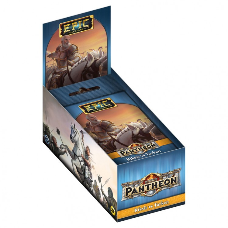 Epic Pantheon: Gods - Riksis Vs Tarken Display (12) Game Box