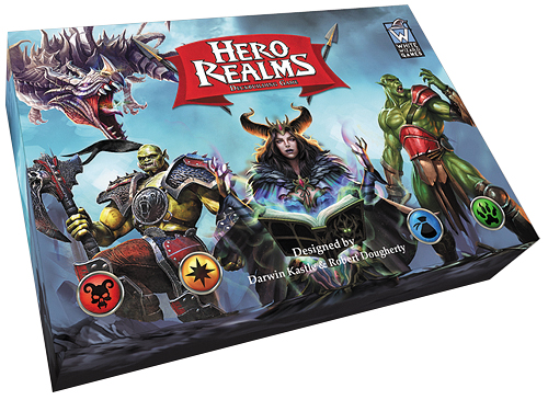 Hero Realms Deckbuilding Game (display 6) Box Front